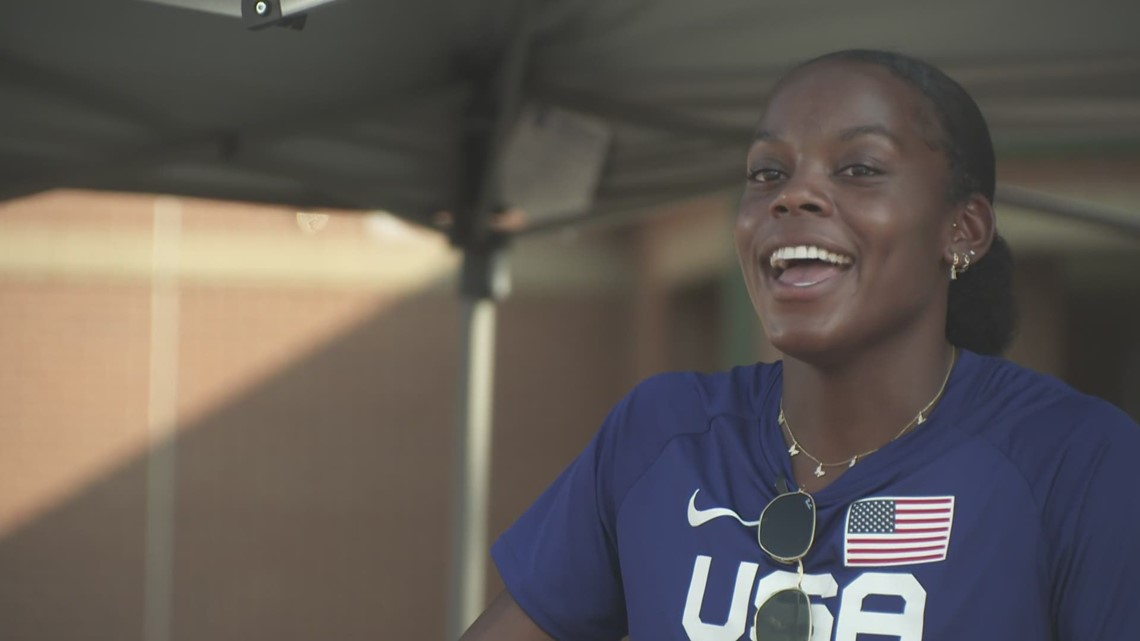 Mansfield native Jasmine Moore is heading to Tokyo to compete in the triple jump for Team USA