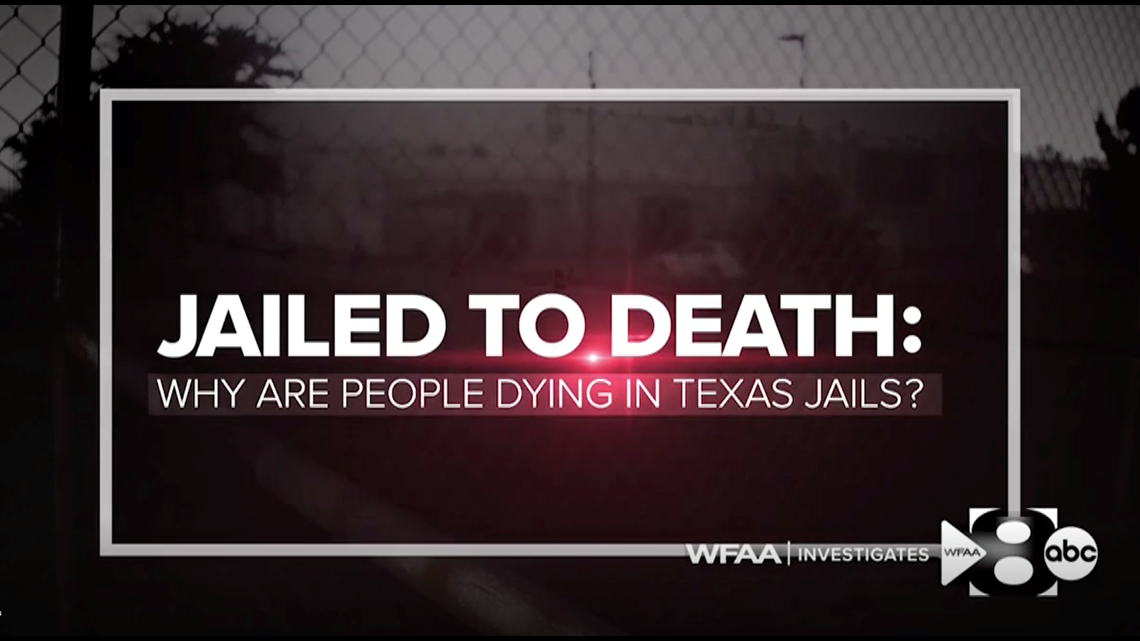 Lawmaker responds after WFAA highlights deaths in jails run