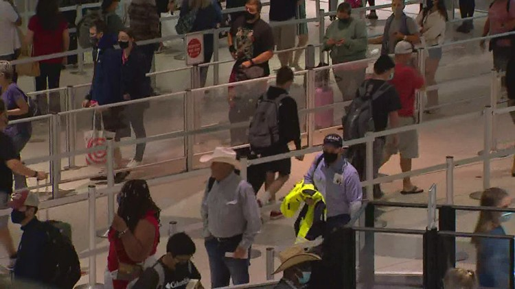Airlines struggle with cancellations and delays as travel numbers spike amid holiday weekend