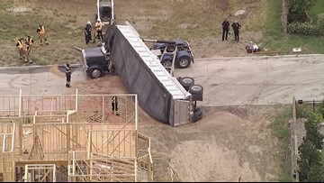Truck driver killed in construction site accident, Frisco police say