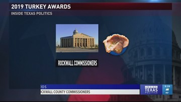 Inside Texas Politics: The Rockwall County Commissioners get a gizzard
