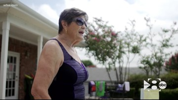 WFAA Original: 81-year-old woman finds passion for teaching swimming, water aerobics