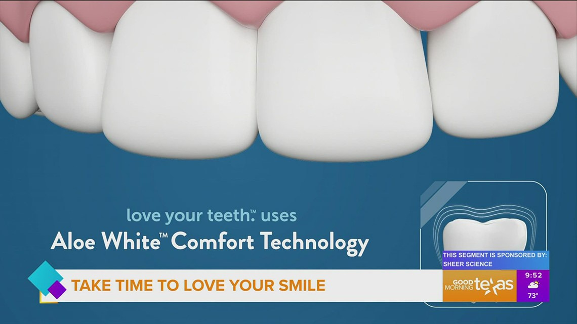 Take Time to Love Your Teeth