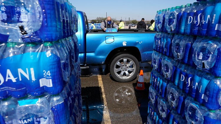 LIST: Water distribution events planned across North Texas