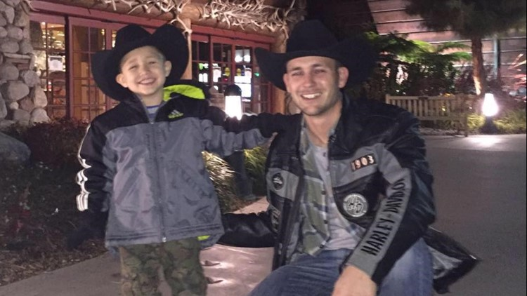 Father's fight to bring son back from Peru