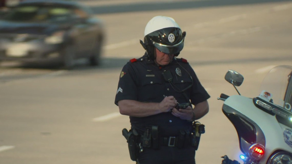 Dallas police cracking down on aggressive drivers in an attempt to prevent road rage