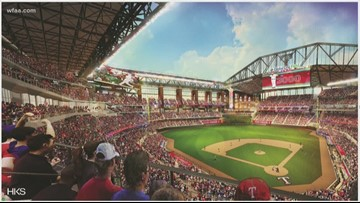 Texas Rangers to play Angels in first regular season home game in new ballpark