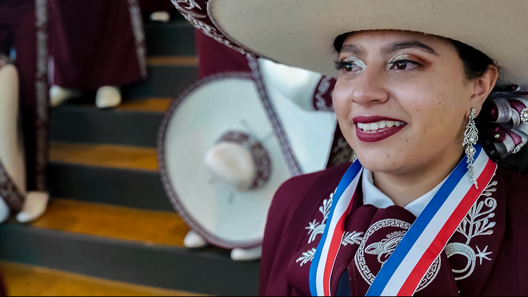 Fort Worth mariachi student's music journey leads her to high-profile university