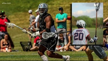 Two southern Dallas high school students just signed to play collegiate lacrosse