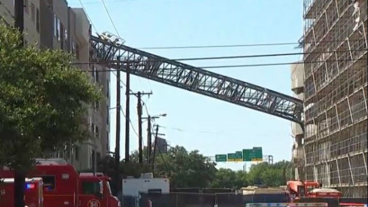 Crane collapse in Dallas