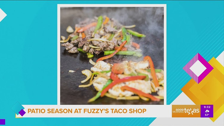 Patio Season at Fuzzy's Taco Shop