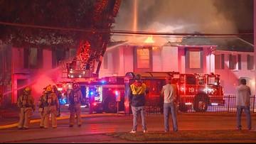 Firefighters battle 3-alarm blaze in Northwest Dallas