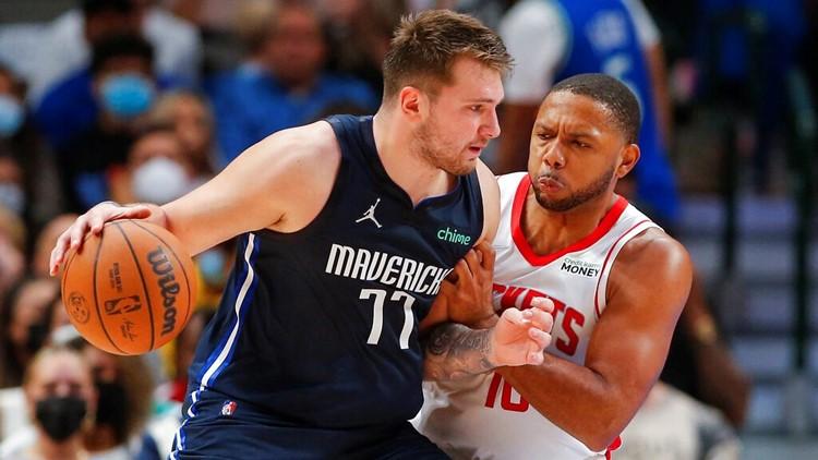 Dončić, Mavs beat Rockets 116-106 in Kidd's home debut