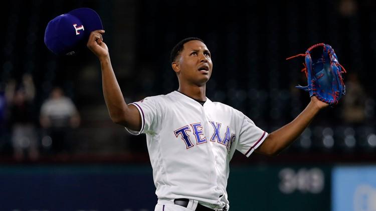 texas rangers players 2020