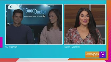 "Alanna chats with stars of ""The Good Doctor"""