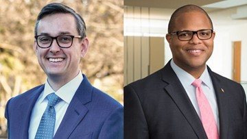 Dallas mayoral race: Scott Griggs and Eric Johnson debate the issues on WFAA