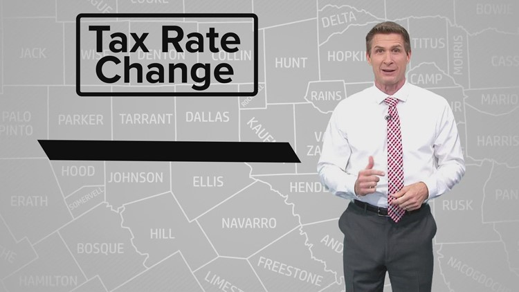 Texans, your property tax rate may be going down. But you still might owe more in property taxes.
