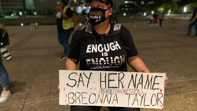 Protests for Breonna Taylor in Dallas
