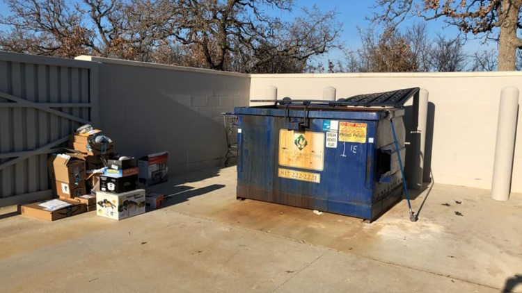 Missing an Amazon package? It might have been thrown in this dumpster.