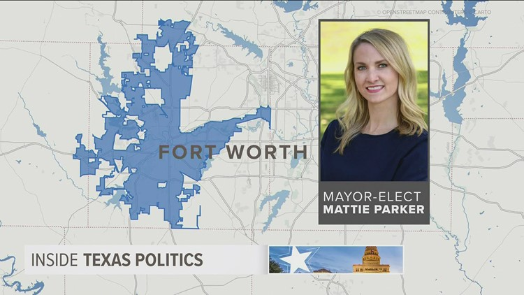 She's the youngest mayor of any major city in the US: Mattie Parker talks priorities for Fort Worth