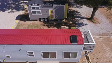 Tiny homes finally on the move to Lake Dallas