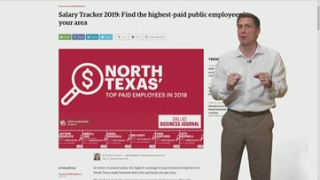 Can you guess which public servant in North Texas makes the most money?