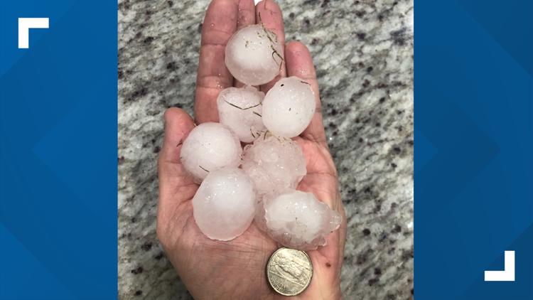 'Holy hail': residents from North Dallas to Anna share pictures from overnight hailstorm