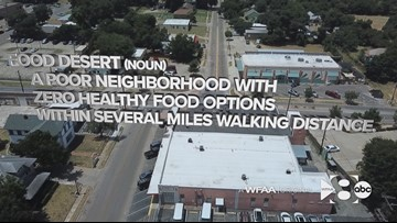 A Waco oasis, and how a south Dallas food desert hopes its turn is next