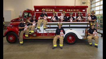 Baby boom: Grand Prairie FD welcomes 10 babies – all born in the last year