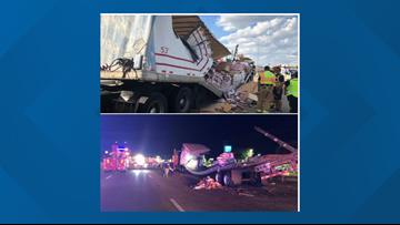 Drunk driver hits 18-wheeler full of peanut butter in DeSoto