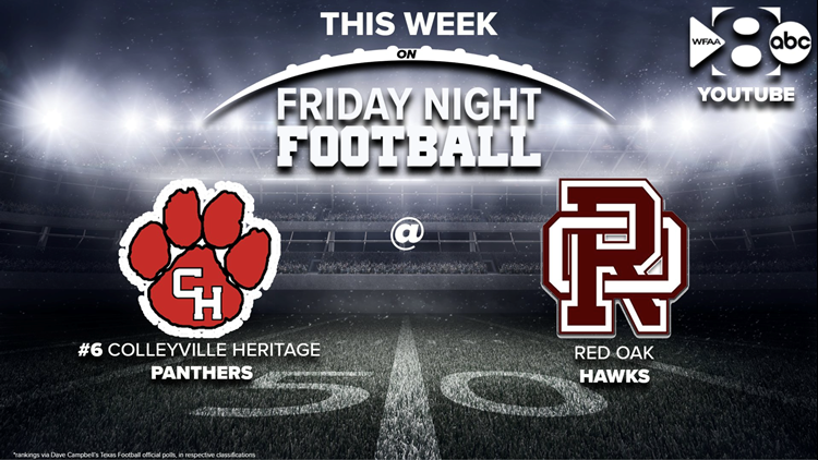 Friday Night Football: Red Oak takes on the #6 team in the state
