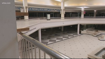 Inside Dallas' Valley View Mall, nearly dead with only a few holdouts left