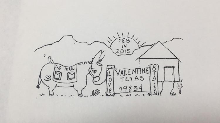 Valentine drawing