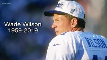 We say goodbye to former Cowboys player and coach Wade Wilson