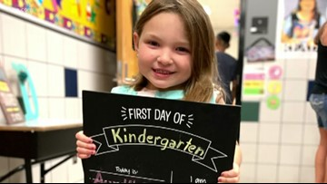 Back to school: Getting ready for the first day of kindergarten