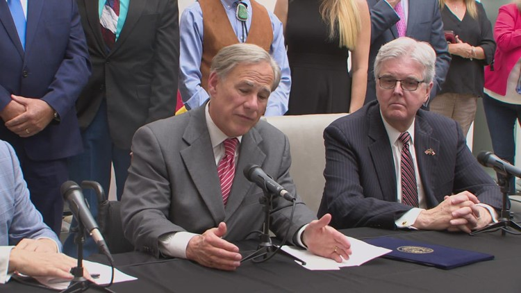 Gov. Abbott signs controversial voting bill into law, addresses 'heartbeat' abortion bill