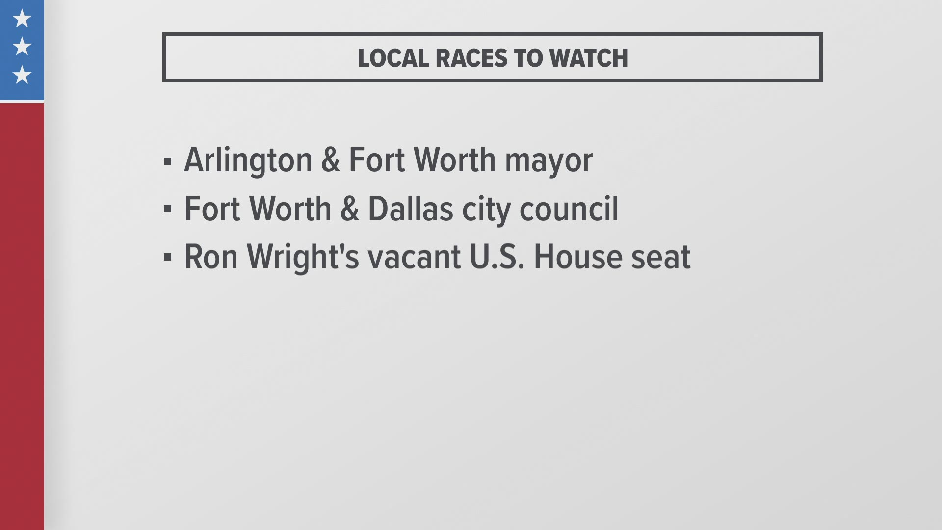 May 2021 Election Guide What North Texas Voters Need To Know Wfaa Com