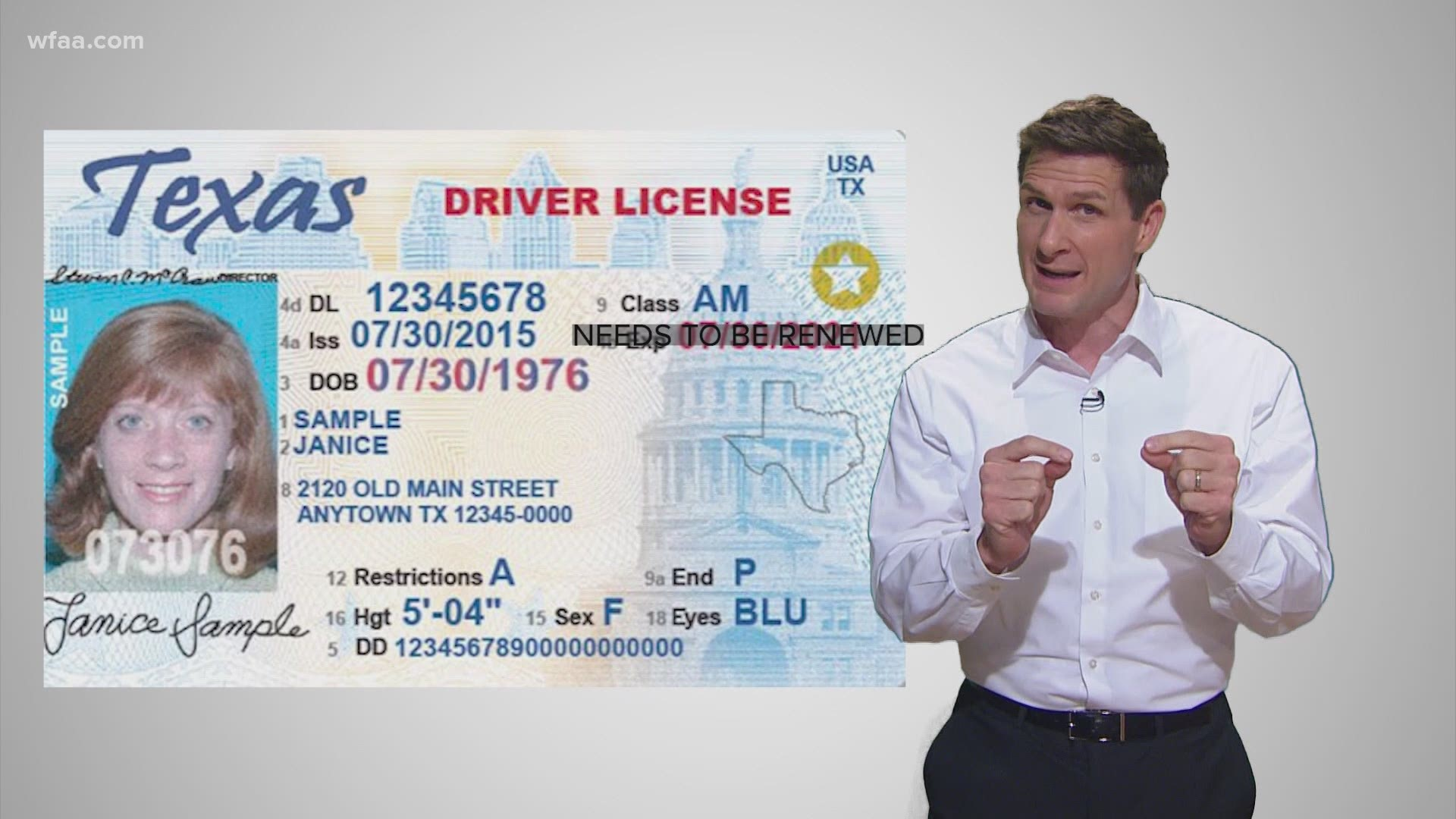The Wait For A Driver S License In Texas Has Changed Because Of Covid 19 Wfaa Com