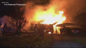 Daughter tried to save parents from Farmersville fire