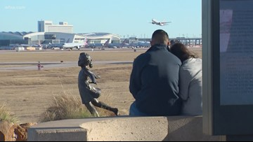 Sunday was the busiest travel day ever at DFW airport