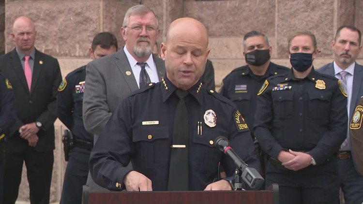 Dallas police chief among those against 'constitutional carry' of handguns in Texas