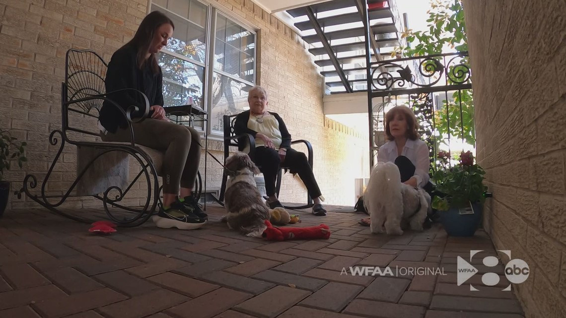 A request to pet a dog leads to an outpouring of support, new friends for 81-year-old Dallas woman