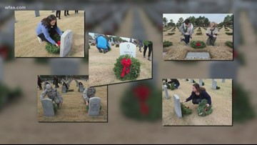 How you can help ensure graves of servicemen and women at DFW National Cemetery have wreaths this season