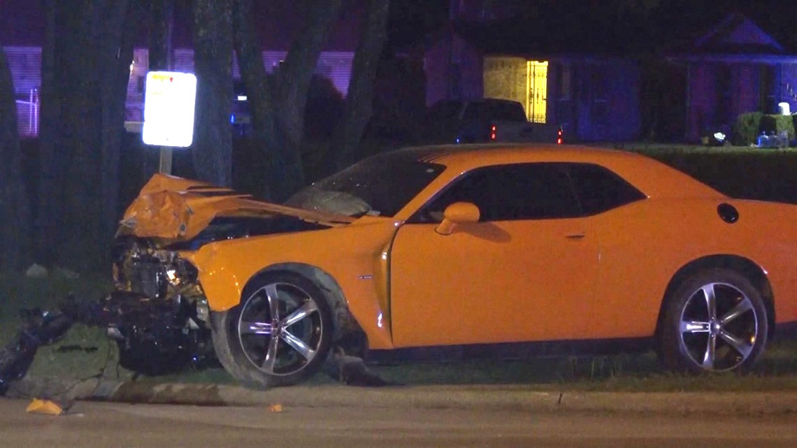 Child Ejected From Car Killed In Street Racing Collision Police Say Wfaa Com