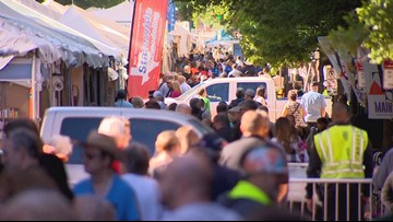 Fort Worth's Main Street Arts Festival cancels Saturday activities due to weather conditions