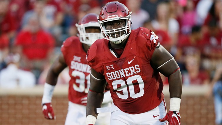 Cowboys take DT Neville Gallimore from Oklahoma with third round ...