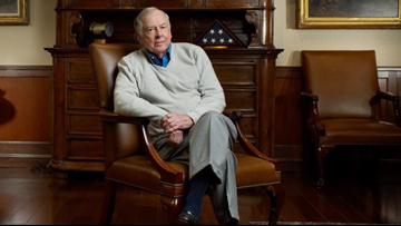 T. Boone Pickens, self-made Texas tycoon, dead at 91