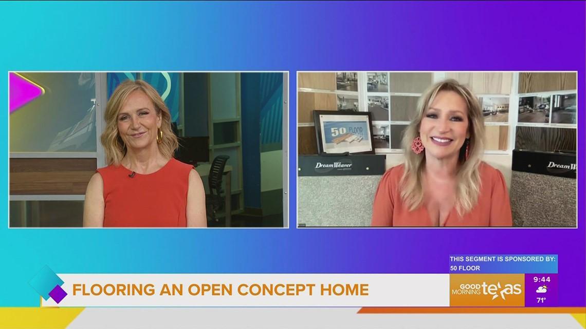 50 Floor talks about flooring in an open home concept