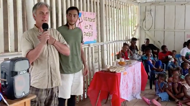 A focus on peace: UNT professor, students send school supplies to students in Colombia