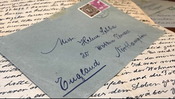 Hidden letters discovered in old desk reveal tragic story of WWII you haven't heard